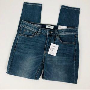 NWT SONOMA Women's Blue Jeans Sz 8R Distressed